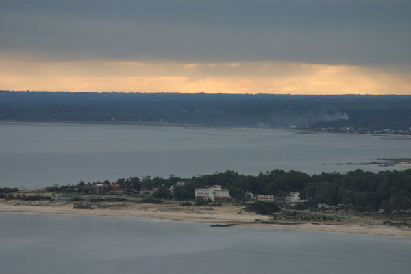 Blick von Piriapolis auf Playa Solis