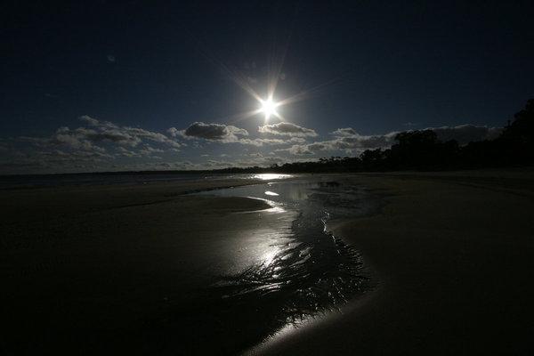 Sonnenuntergang in Atlantida