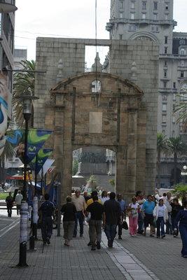 Eingang zur Ciudad Vieja