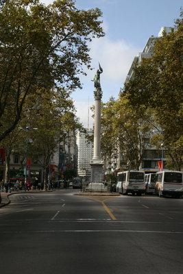 Monumento a la Libertad Plaza Cagancha