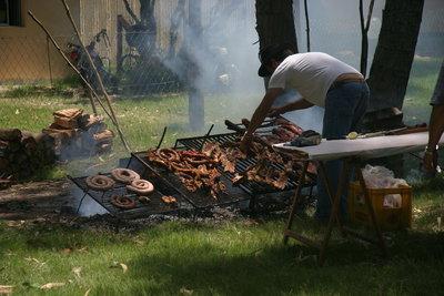 Creolisches Grillfest
