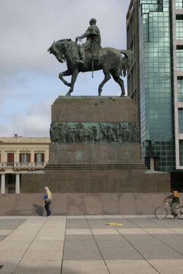 Reiterstatue von Artigas